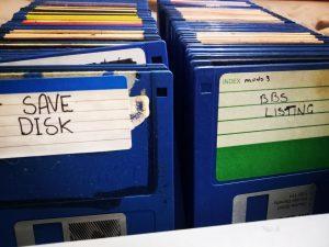3½-inch floppy disks Amiga