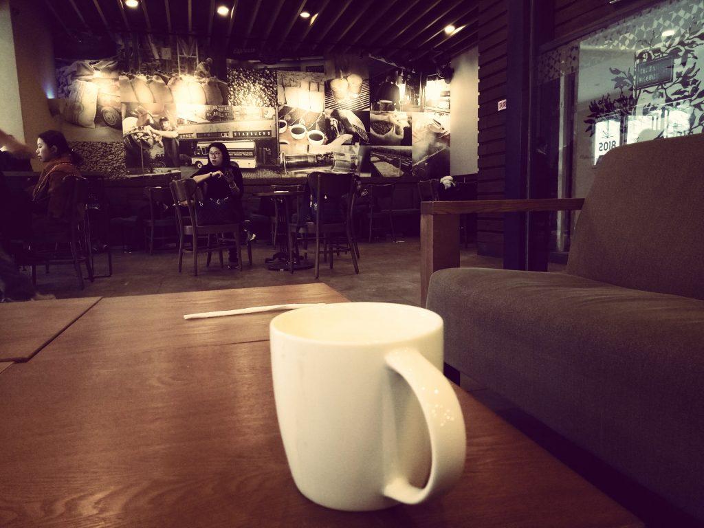 coffee in starbucks