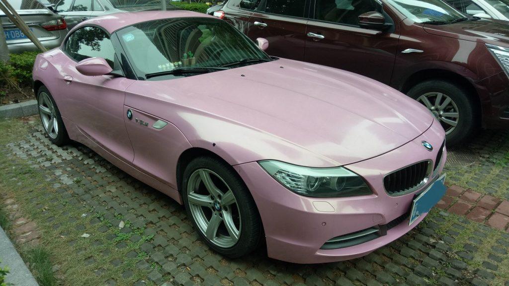 Pink-BMW-China