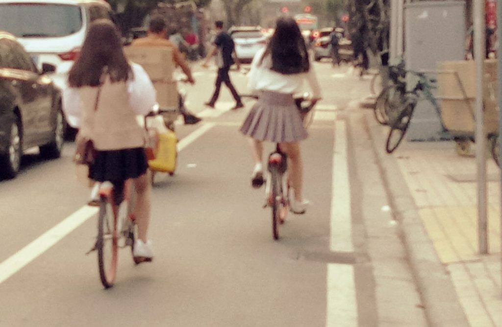 bike tasseled skirt china