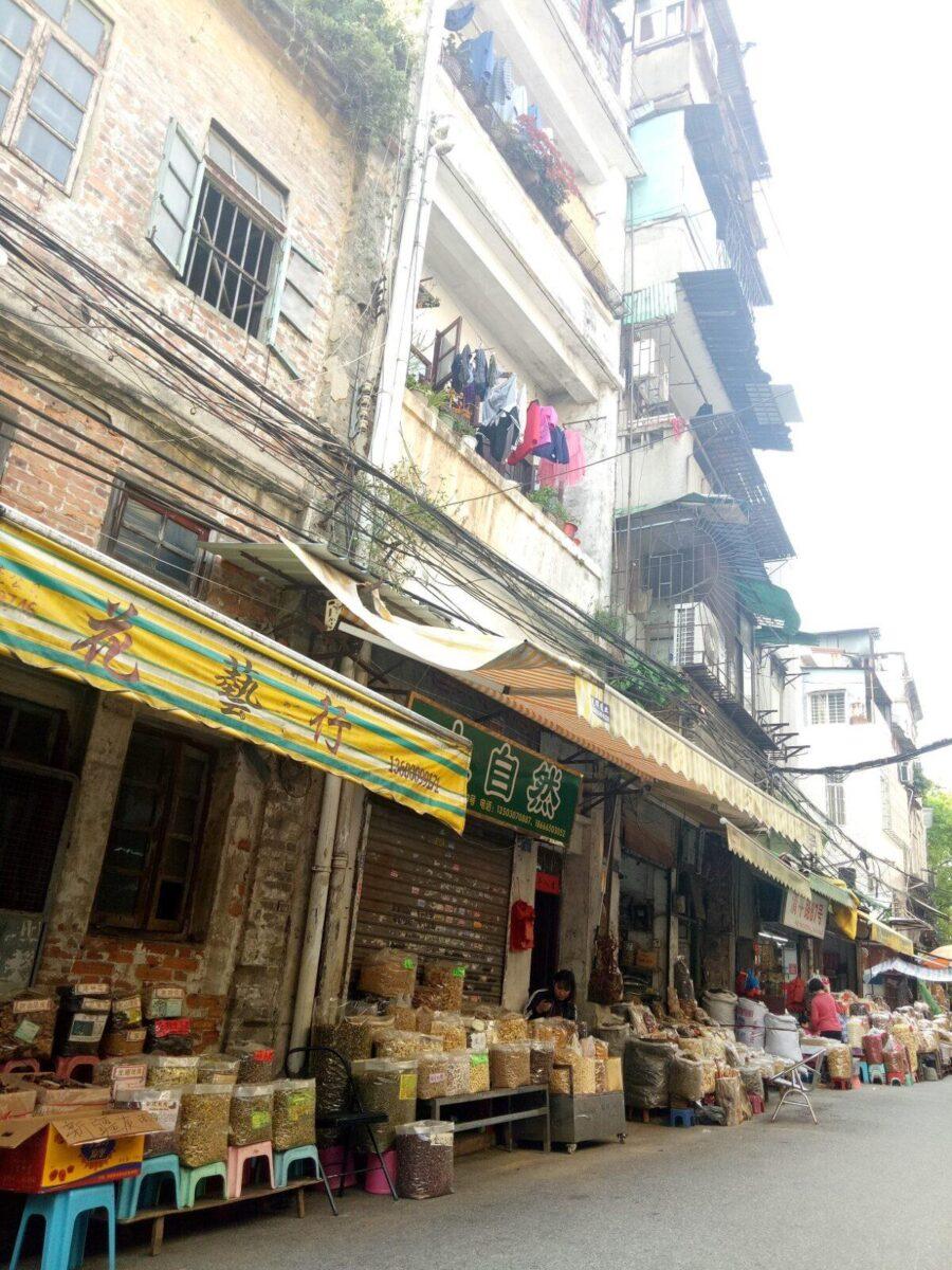 china street vendors