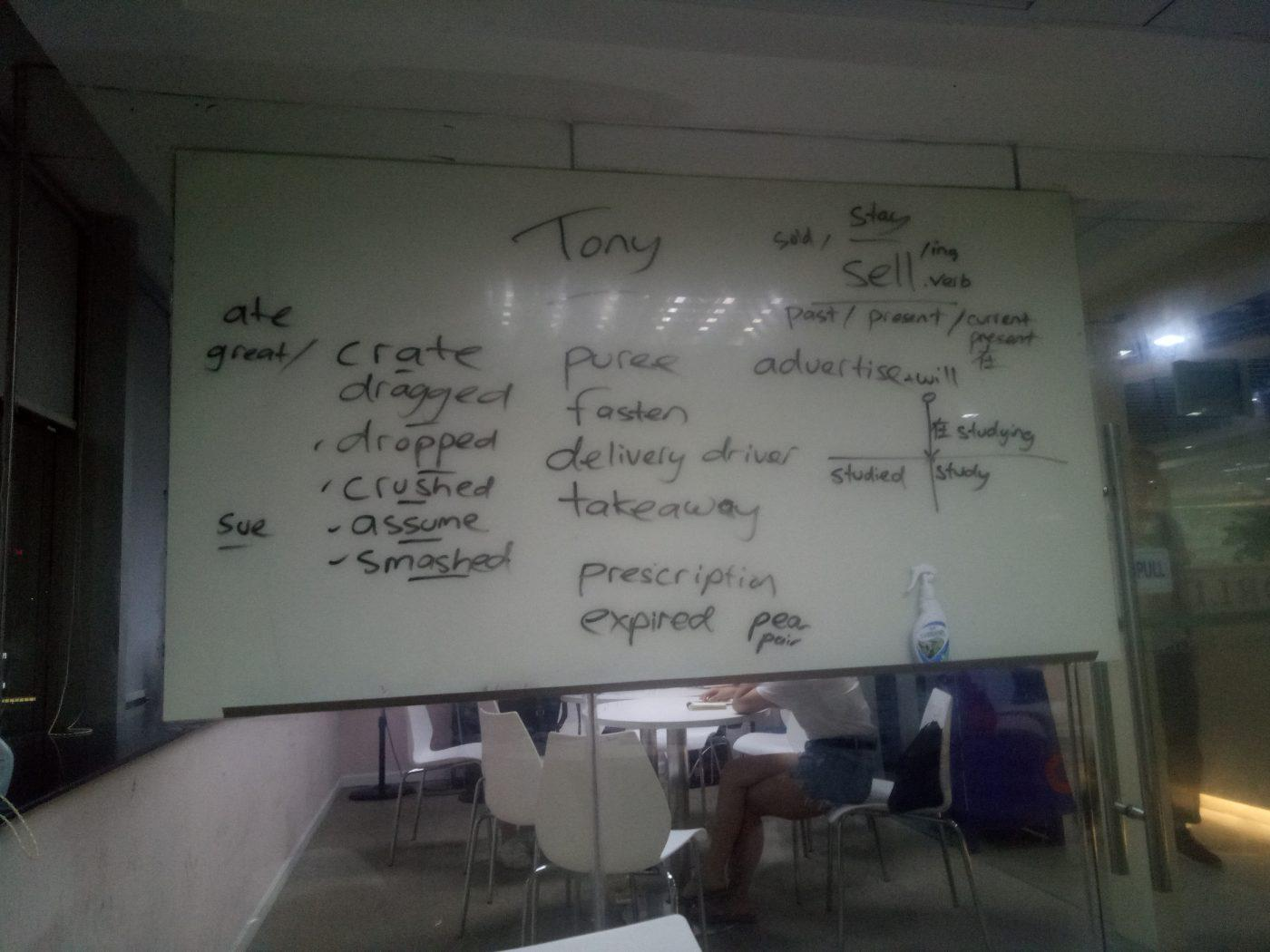 Teaching English In China Whiteboard Chinese Students