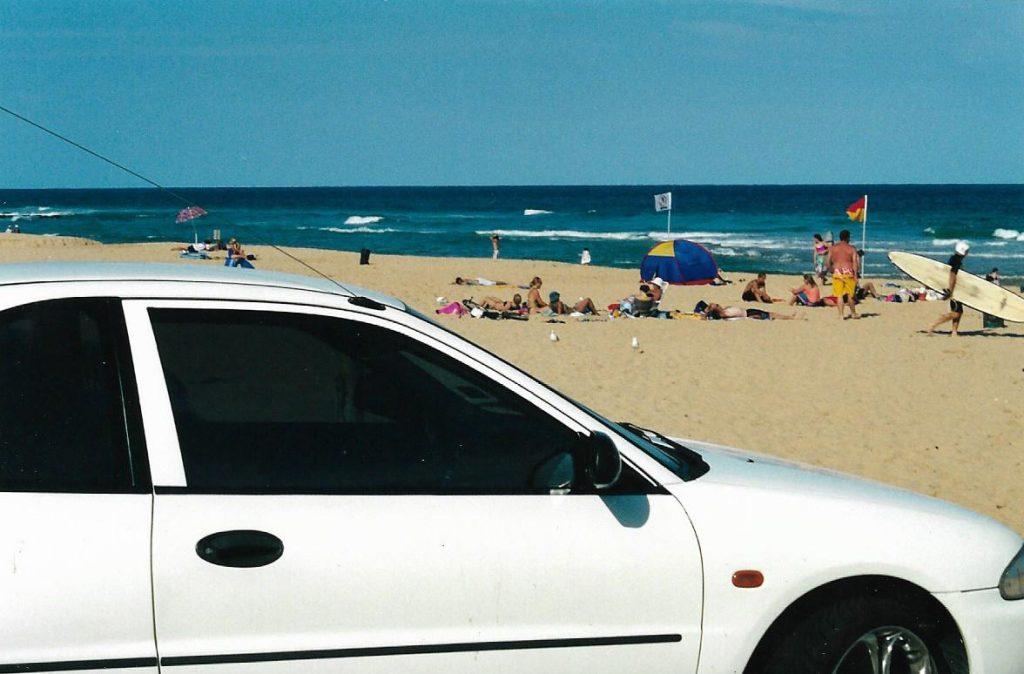 Local Sydney Beach Car