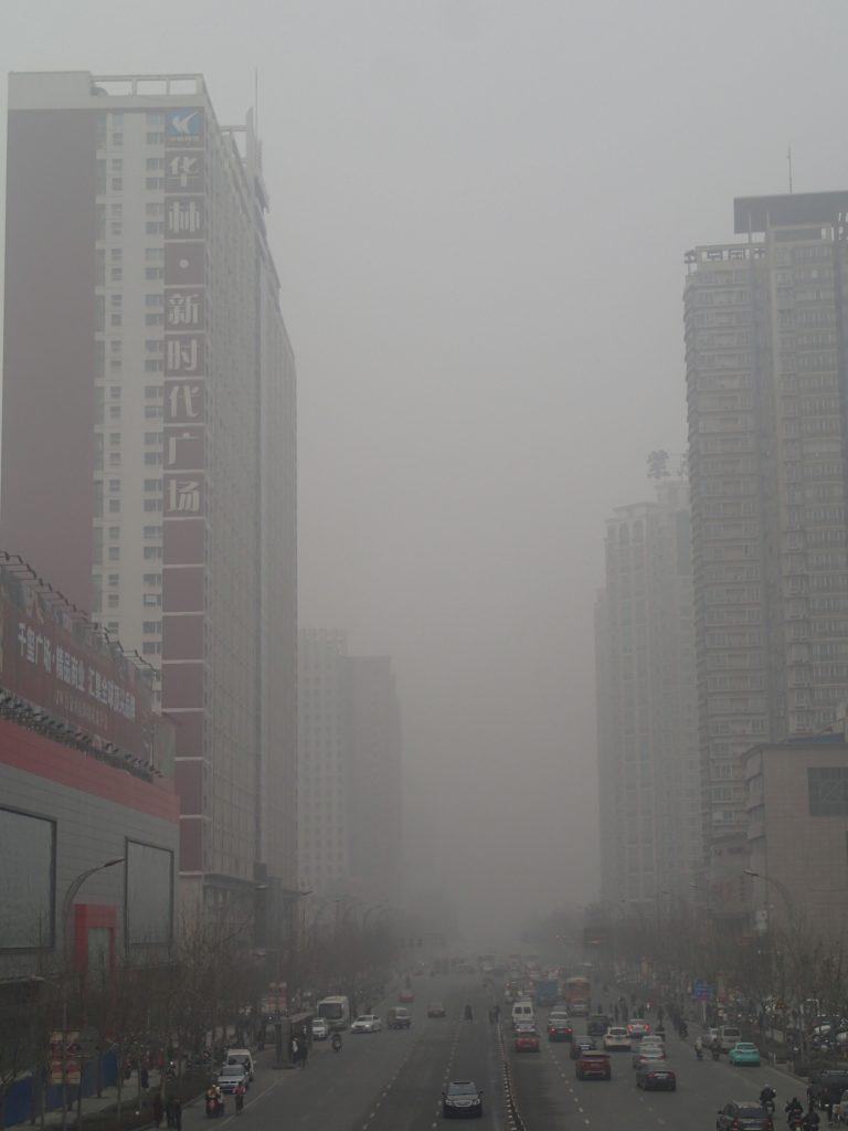 zhengzhou critical pollution smog