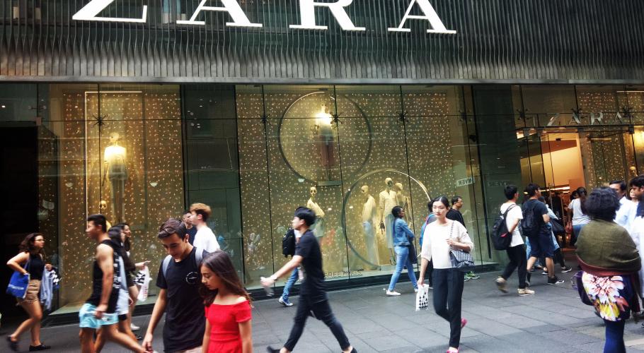 Sydney Business Zara