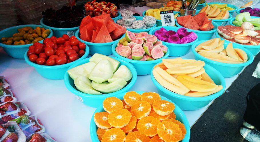 Chinese Fruit Shop
