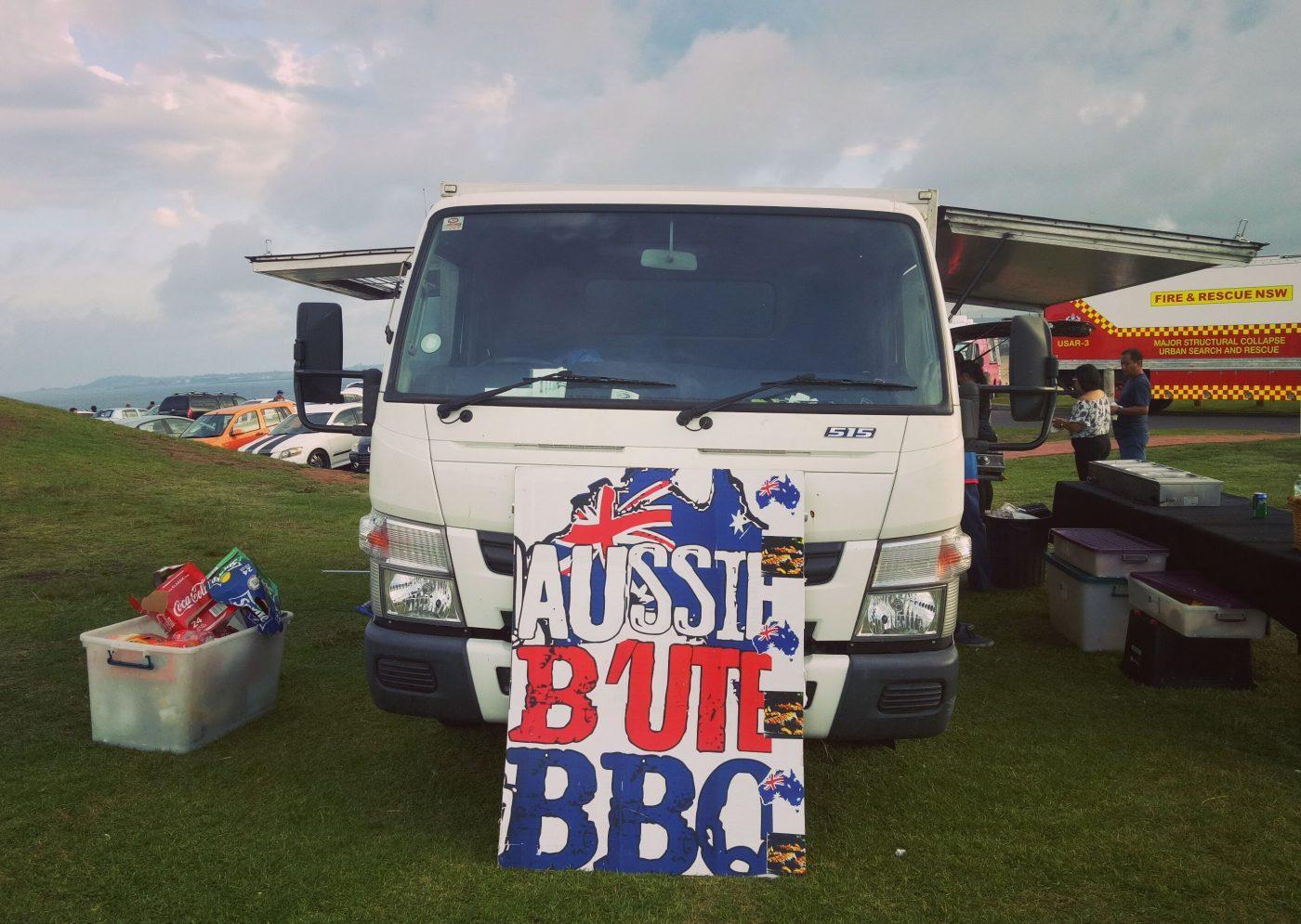 Aussie BBQ Truck Shop Wollongong Beach