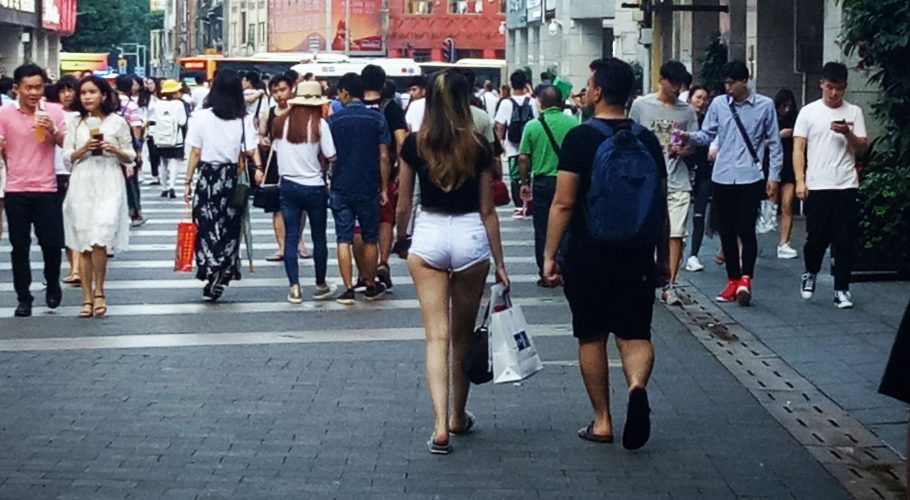 mini shorts in China