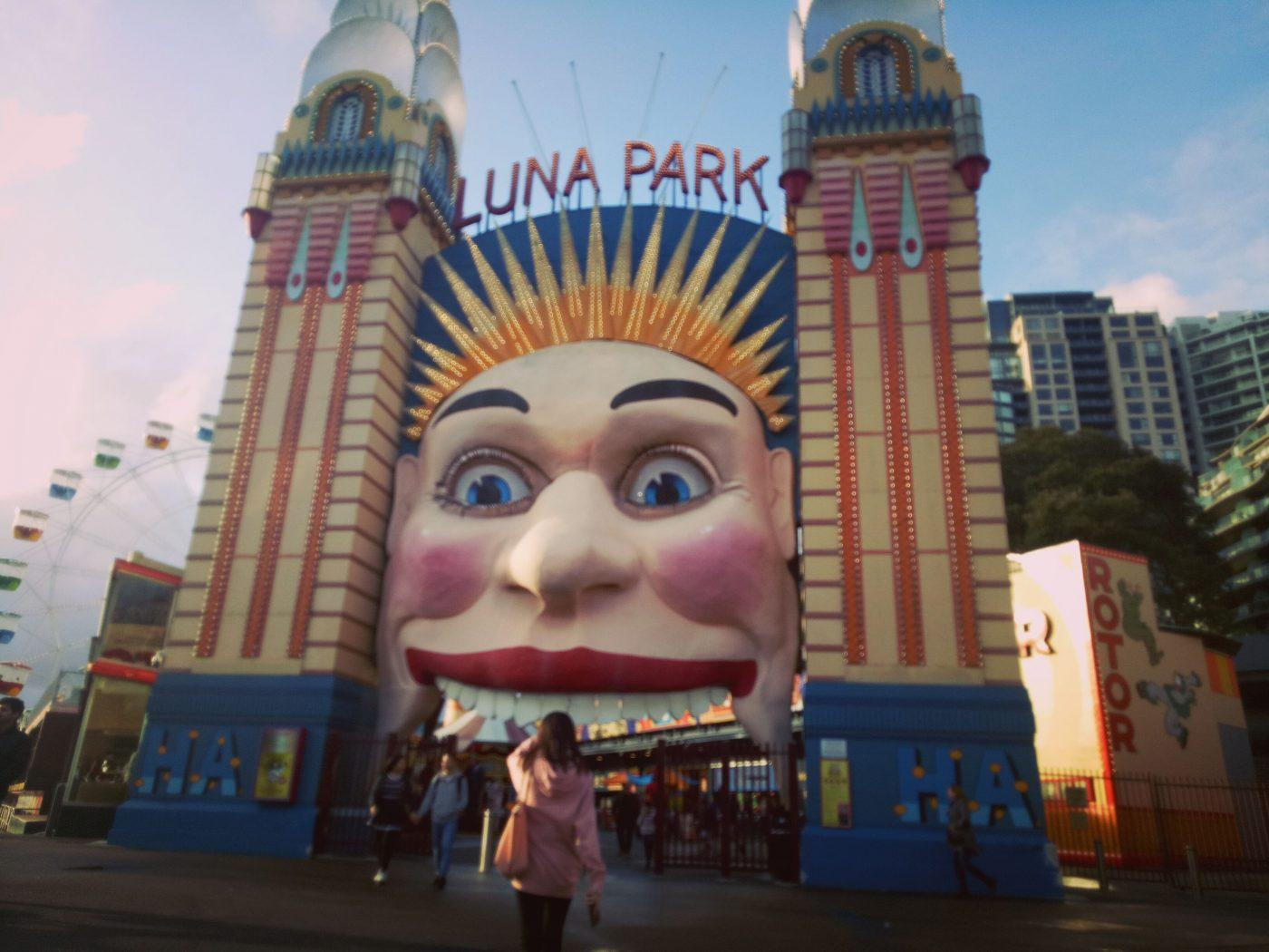 Luna Park Entrance Gate