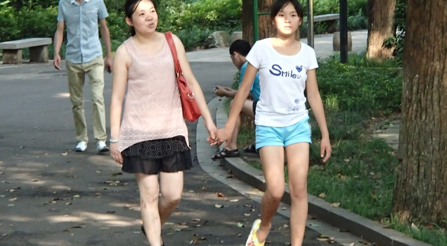 Chinese Mother Daughter