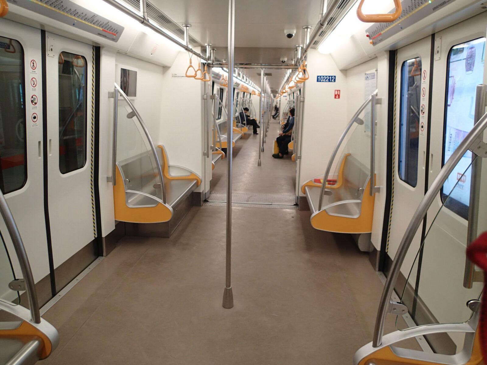 Empty Train In China