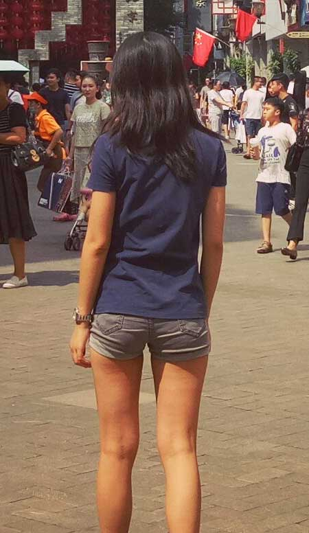 short shorts fashion